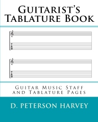 Guitarist's Tablature Book